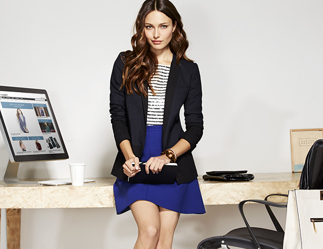Work it: Blazers & Blouses at MYHABIT