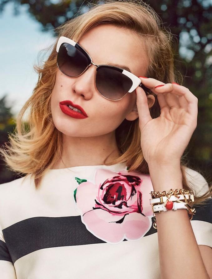 kate spade new york genette Cat-eye Sunglasses
