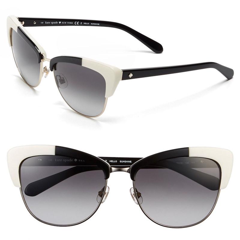 Kate Spade Cat Eye Sunglasses  kate spade new york genette cat eye sunglasses nawo