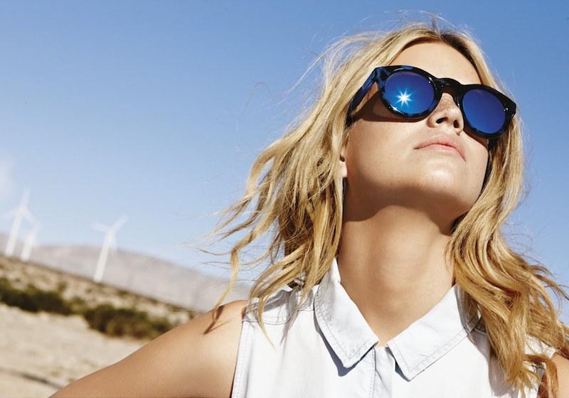 kensie Monroe 49mm Polarized Sunglasses