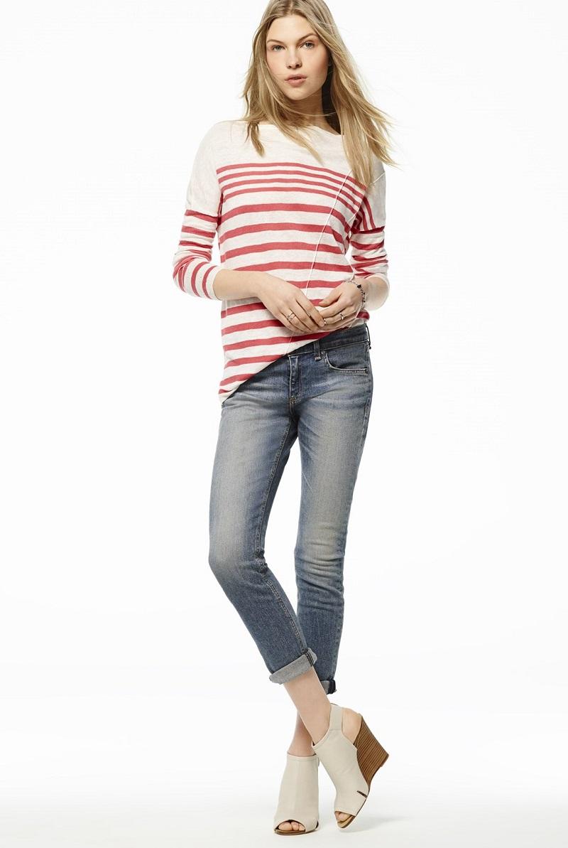 rag & bone Stripe Pullover