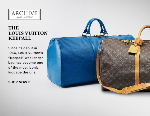 ARCHIVE: The Louis Vuitton Keepall at MYHABIT