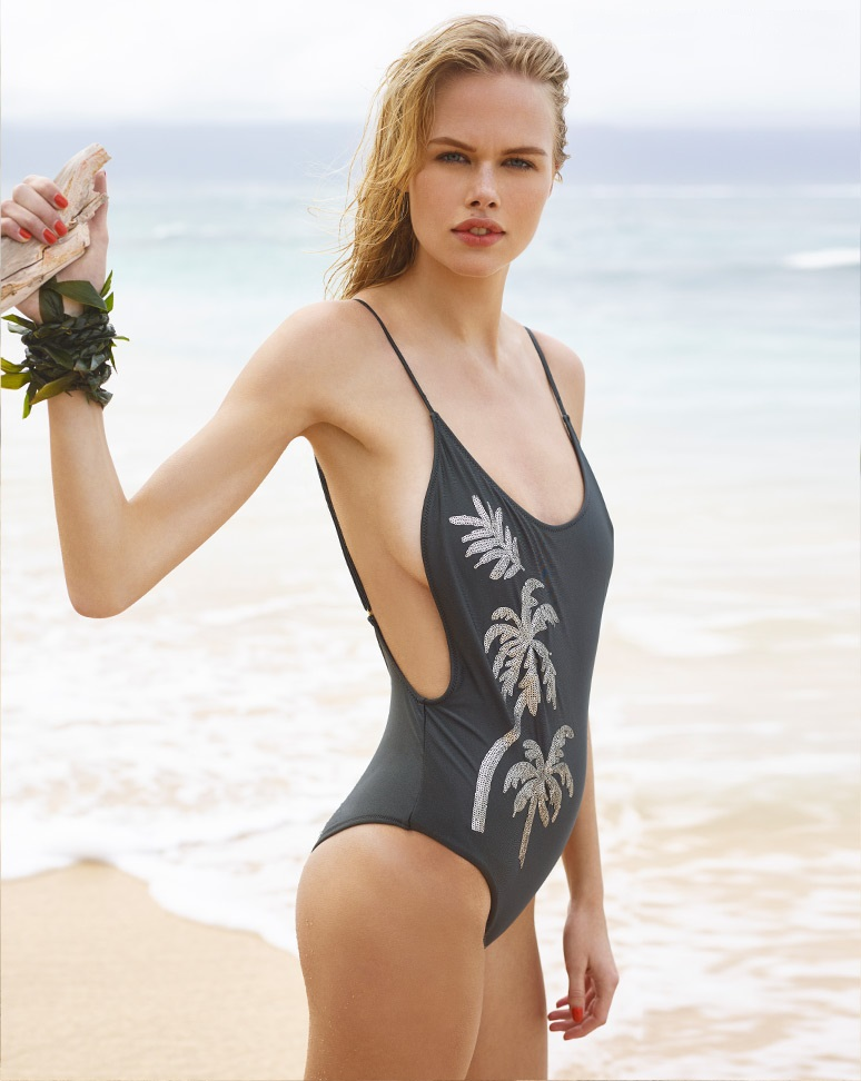 Amuse Society Rory Sequin One Piece