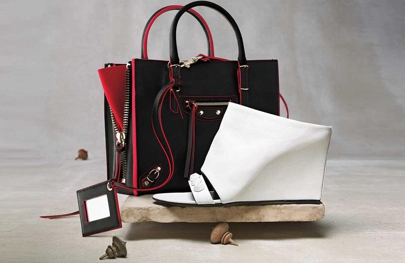 Balenciaga Papier Mini Leather Tote Bag