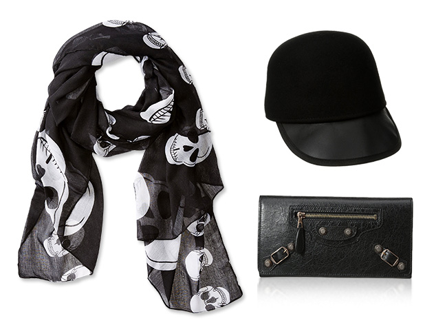 Best of Black: Accessories at MYHABIT