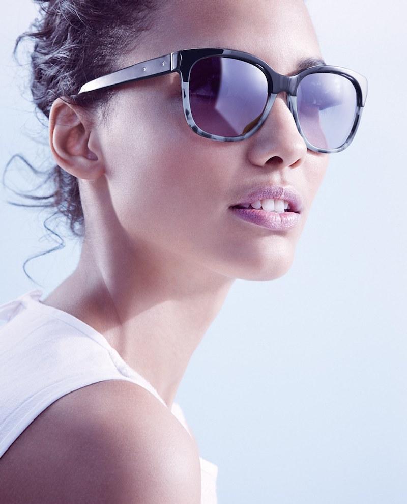 Bobbi Brown The Gretta 56mm Colorblock Sunglasses