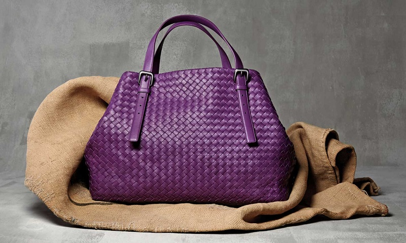 Bottega Veneta Woven Large A-Shape Tote Bag