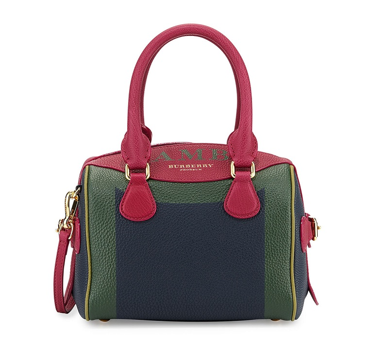 Burberry Monogram Painted-Frame Mini Satchel Bag
