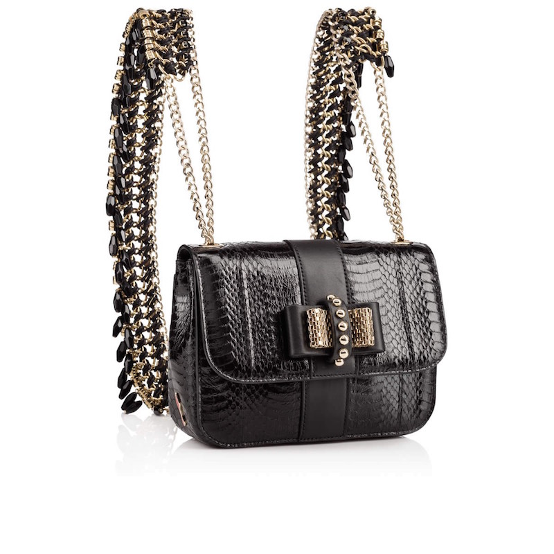 Christian Louboutin Sweet Charity Mini Snakeskin Backpack_2