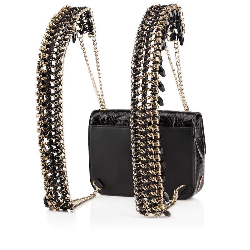 Christian Louboutin Sweet Charity Mini Snakeskin Backpack_3
