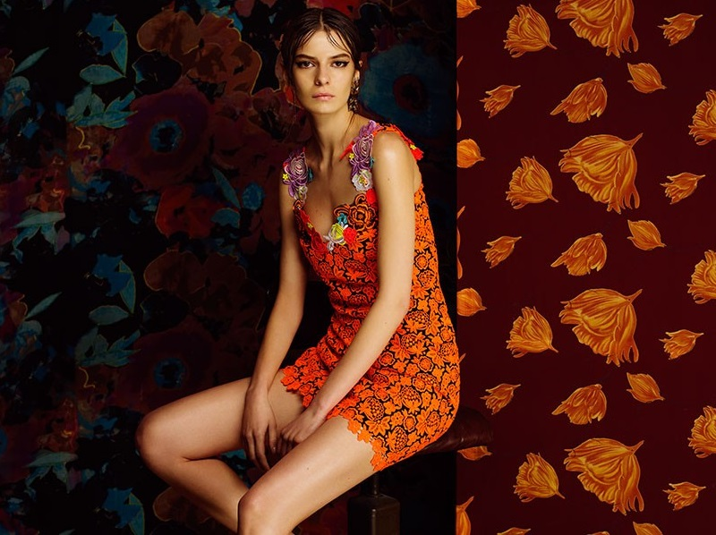Christopher Kane Floral Broderie dress