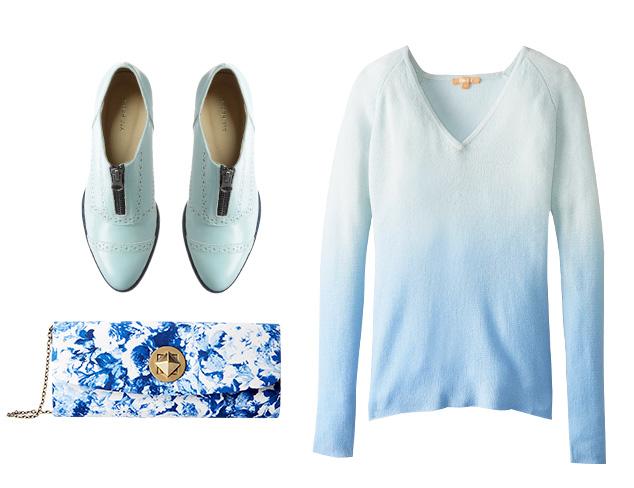 Color Cue: Pale Blue at MYHABIT
