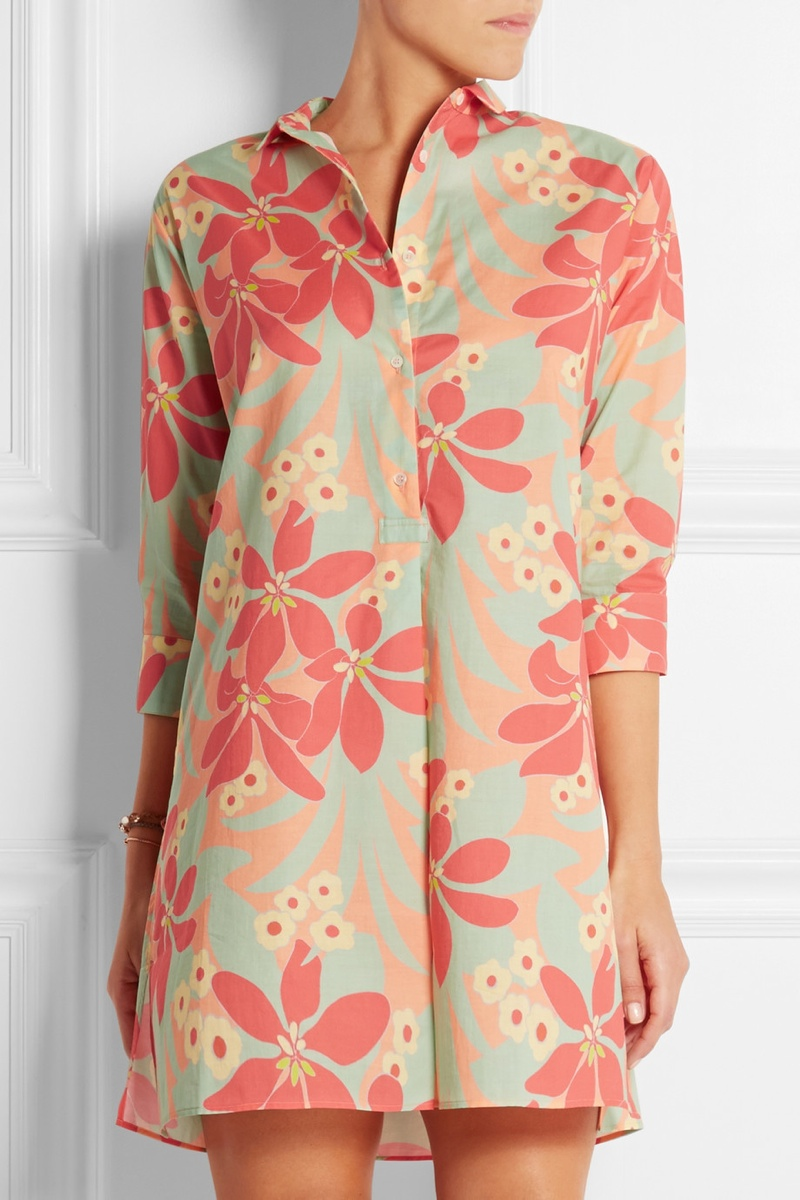 ERES + LHD printed cotton tunic