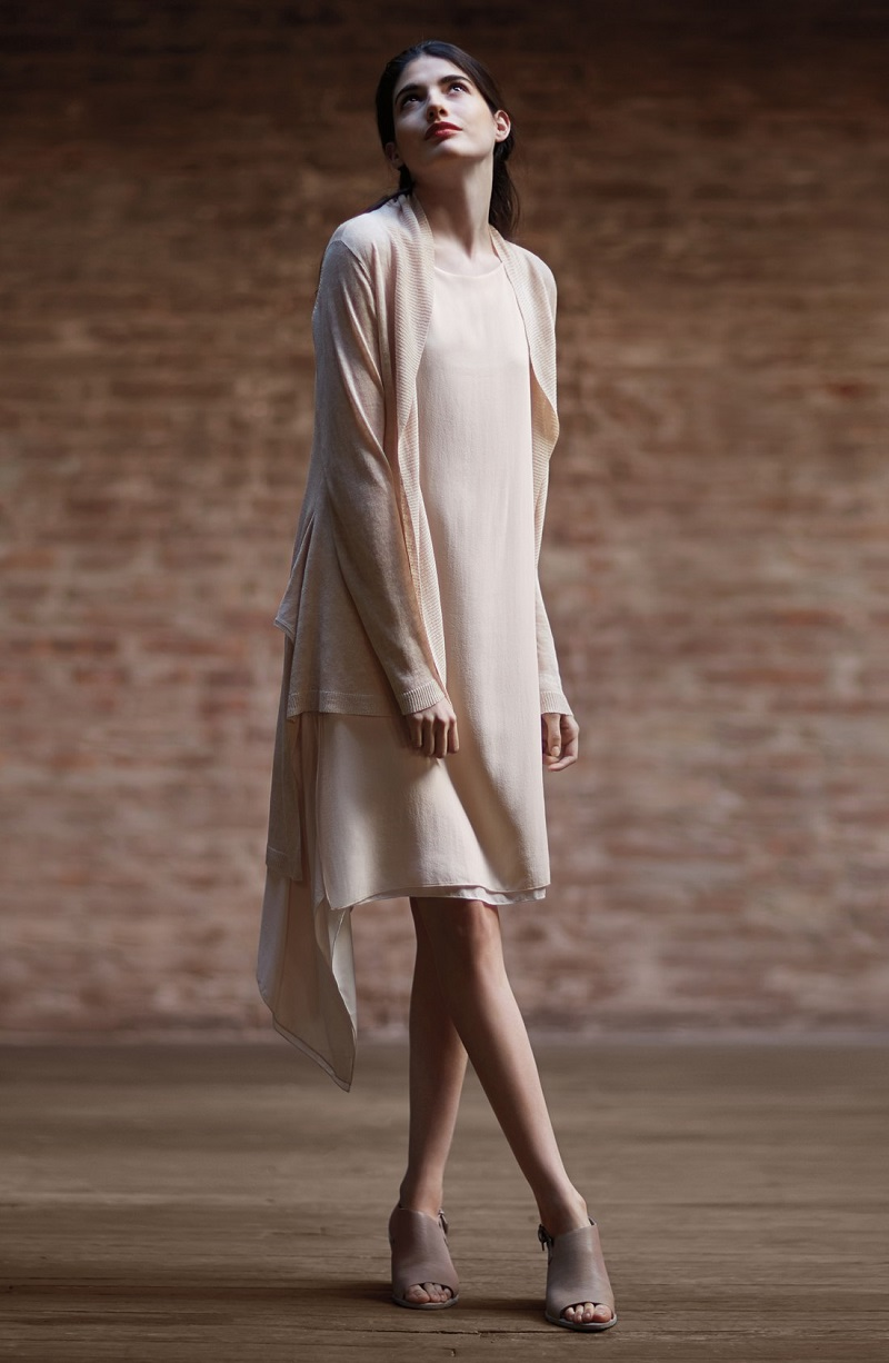 A Sustainable Future Eileen Fisher Spring 2015 Lookbook