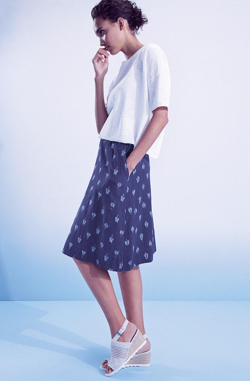 Eileen Fisher Ikat Petal Skirt
