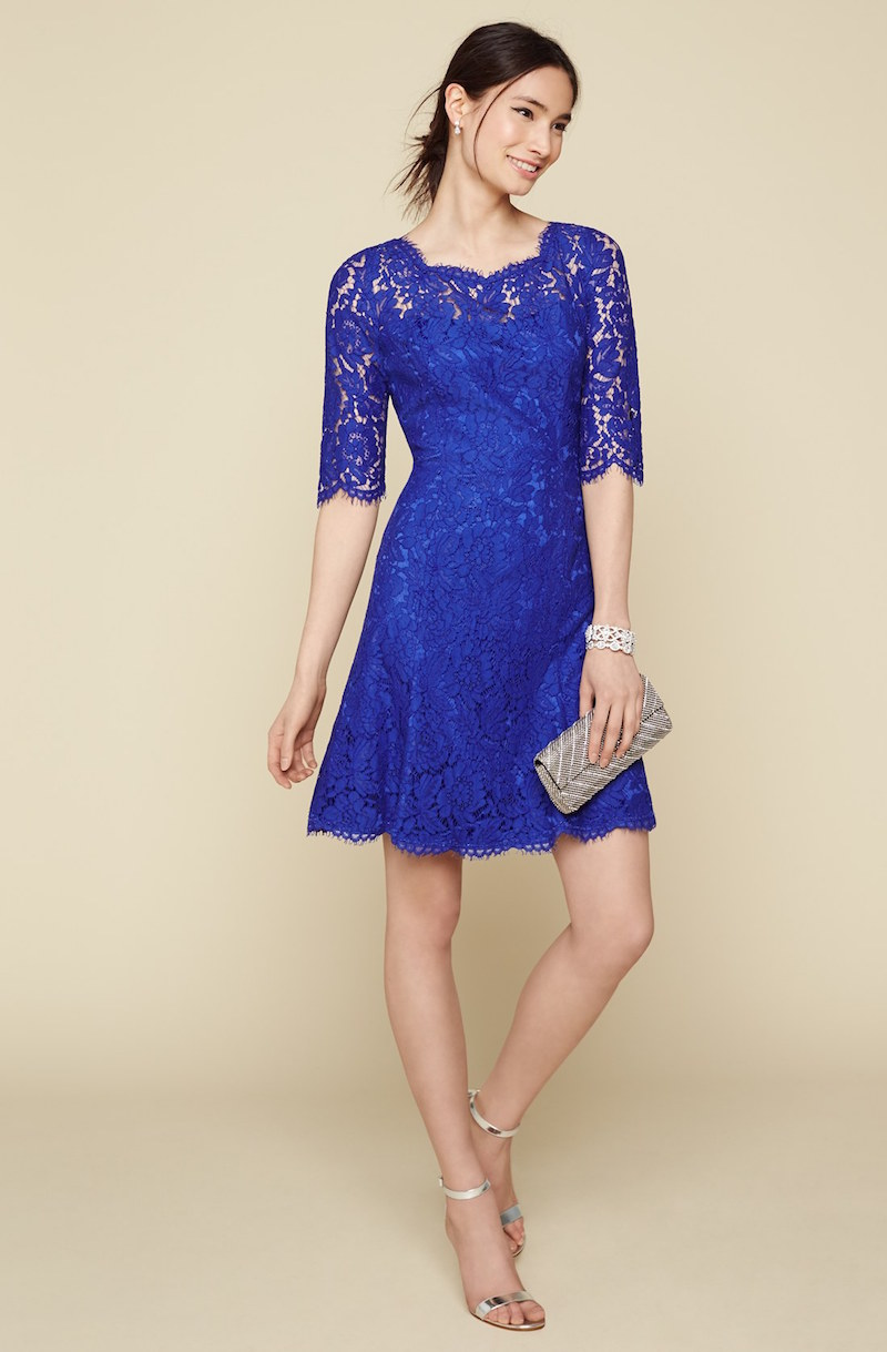 Eliza J Lace Tulip Dress
