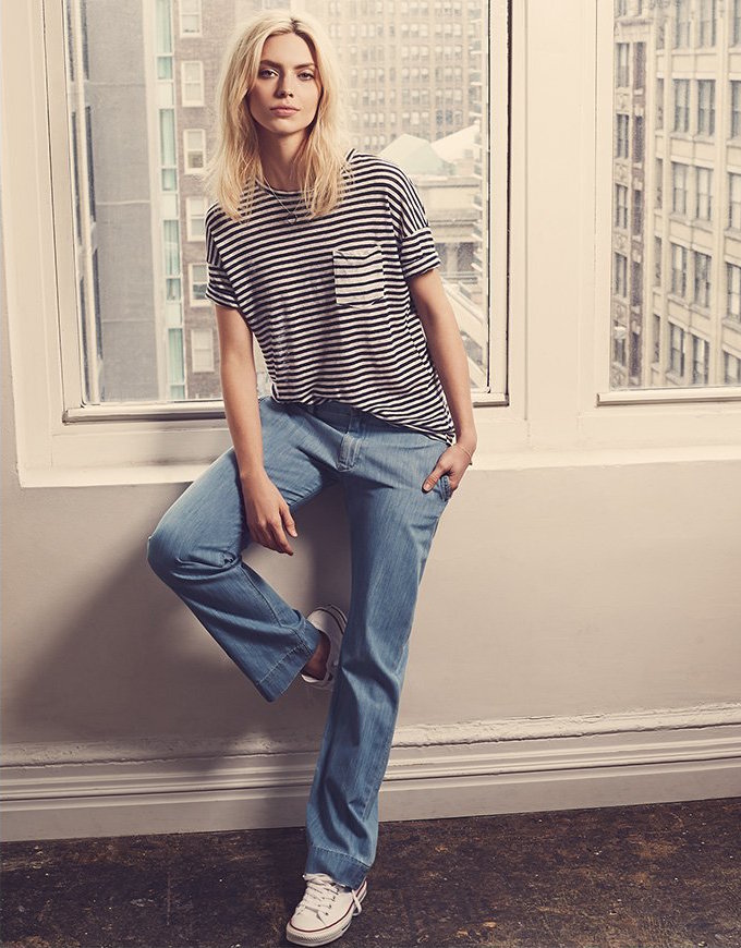 FRAME Le Straight Trouser Jeans
