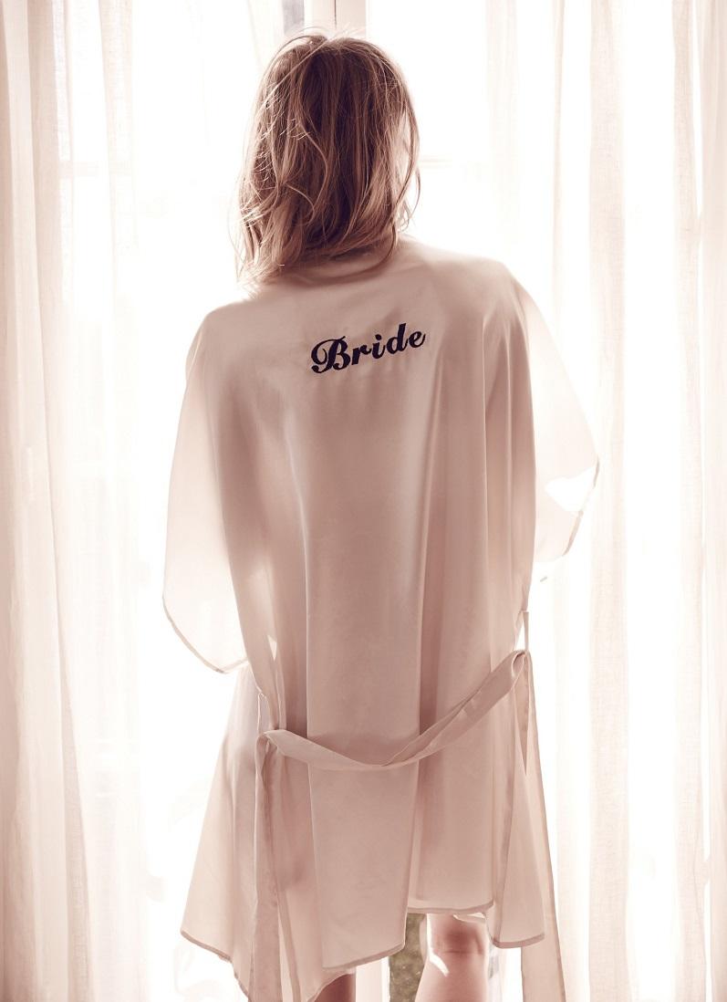 For Love & Lemons Bride Robe