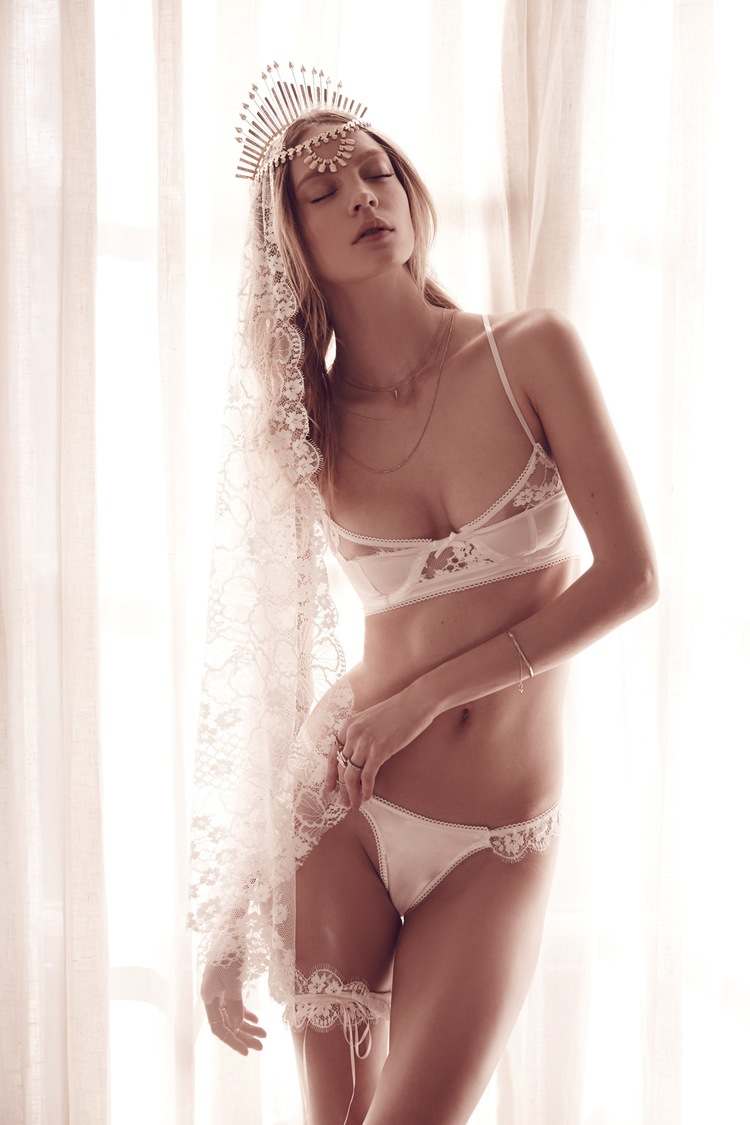 For Love & Lemons Flower Bomb Bra