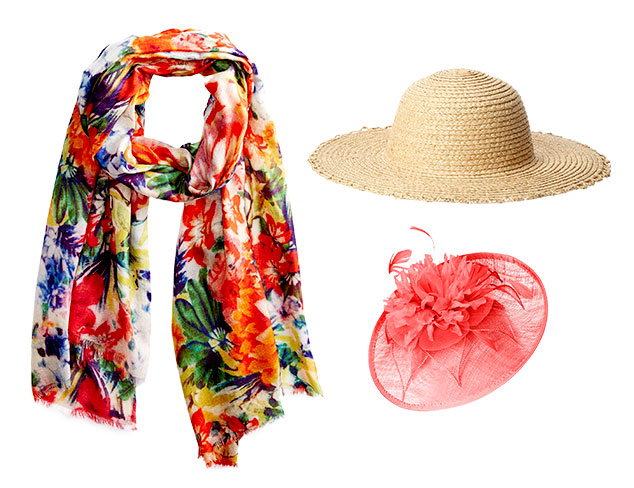 Garden Party: Hats & Scarves at MYHABIT