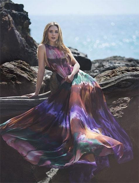 Into The Sun Elizabeth Olsen for The EDIT_8