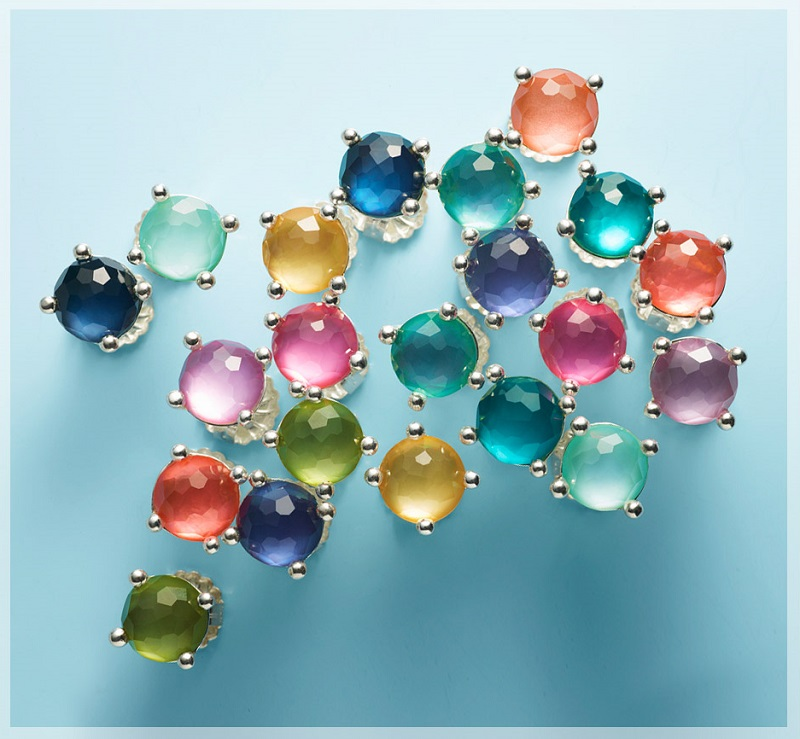 Ippolita  Wonderland Mini Stud Earrings