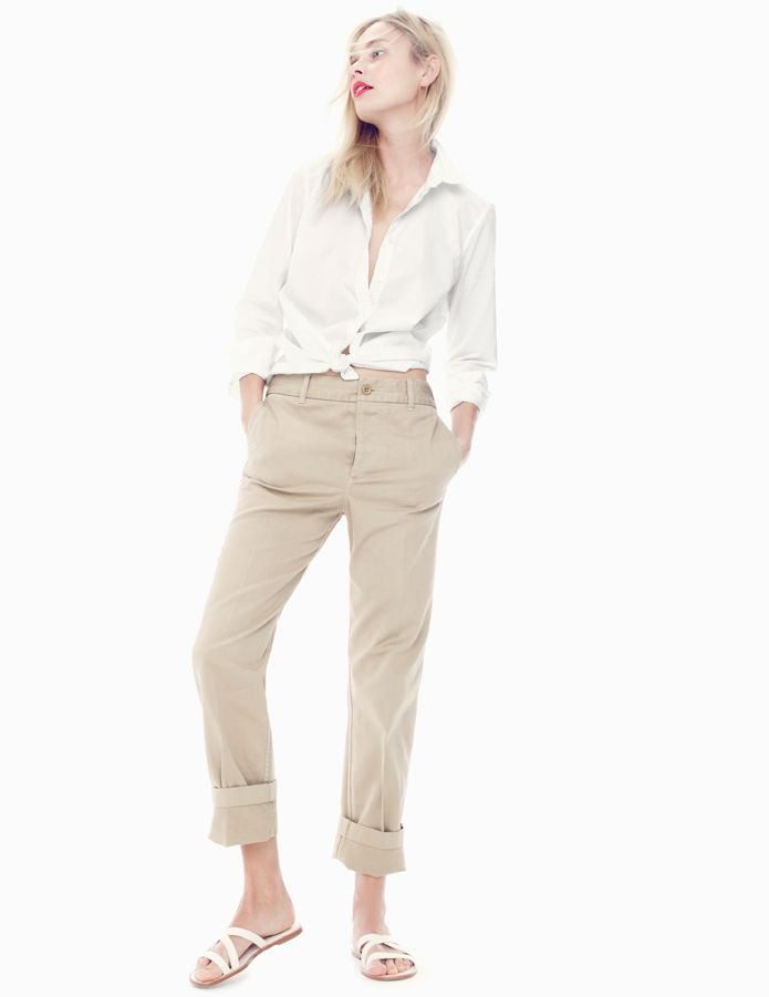 J.Crew Broken-in boyfriend chino
