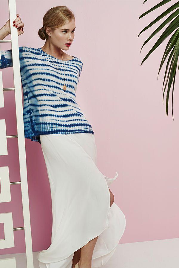 Joie Yelena Hi-Lo Maxi Skirt