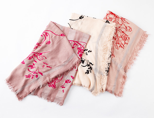Light & Lovely Scarves feat. Leigh & Luca at MYHABIT