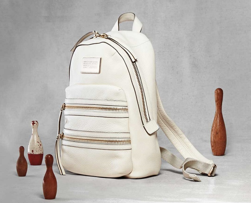 MARC by Marc Jacobs Domo Biker Leather Backpack
