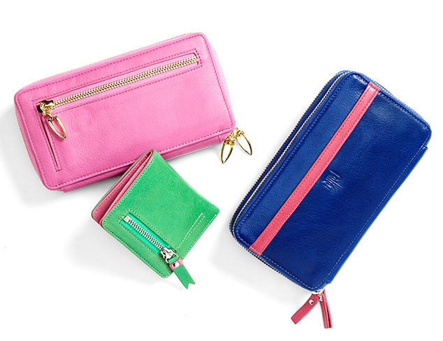 Mix and Match: Colorful Leather Wallets at MYHABIT