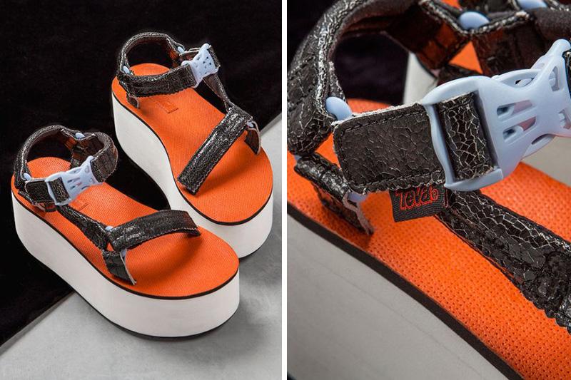 Nasty Gal x Teva Walk On Flatform Sandal