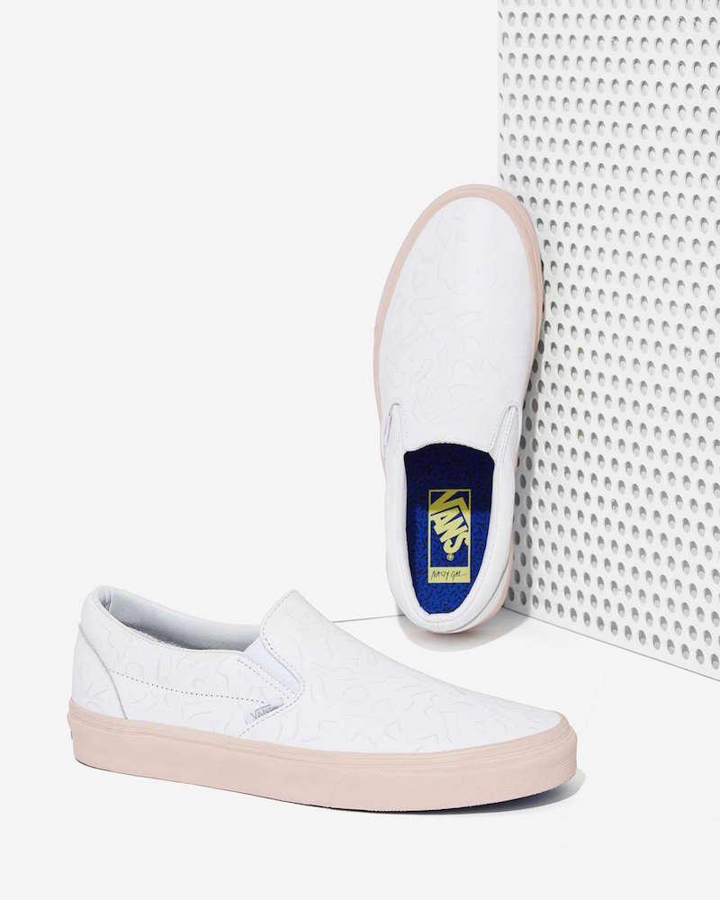 Nasty Gal x Vans Get Down Classic Leather Slip-On Sneaker