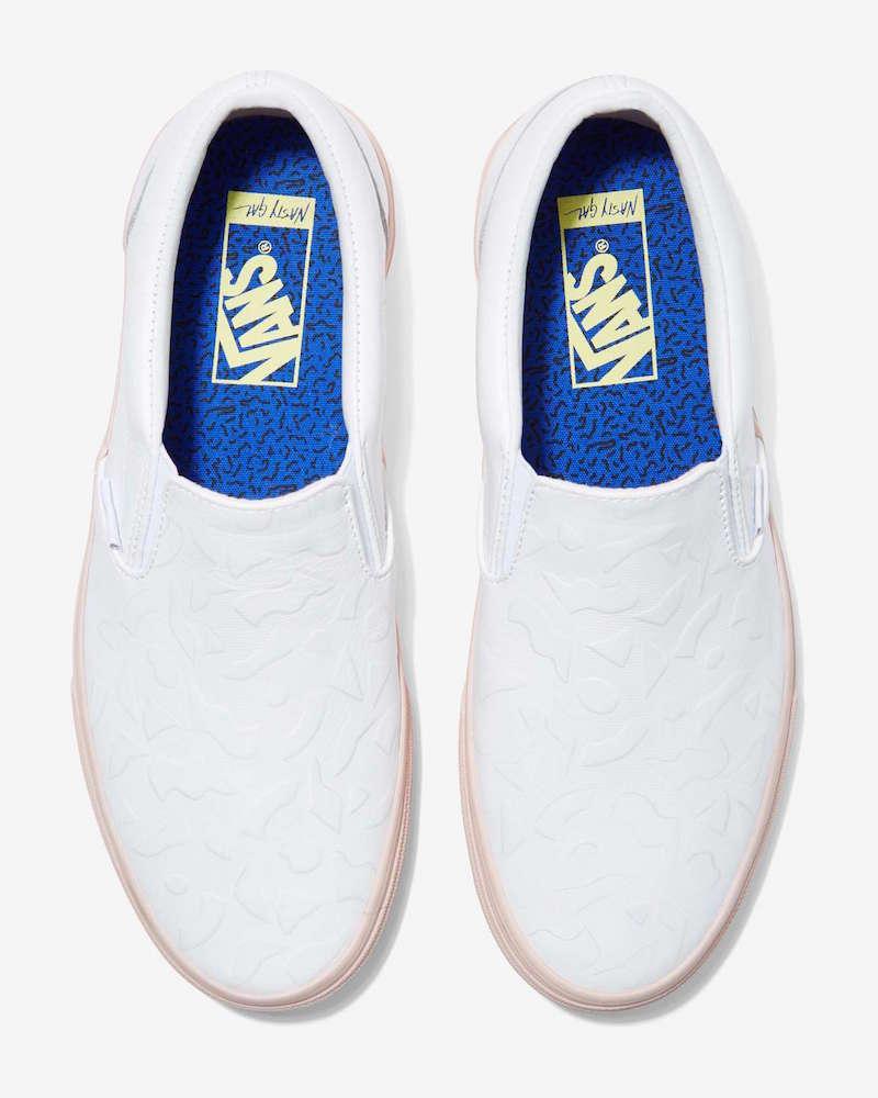 Nasty Gal x Vans Get Down Classic Leather Slip-On Sneaker_1
