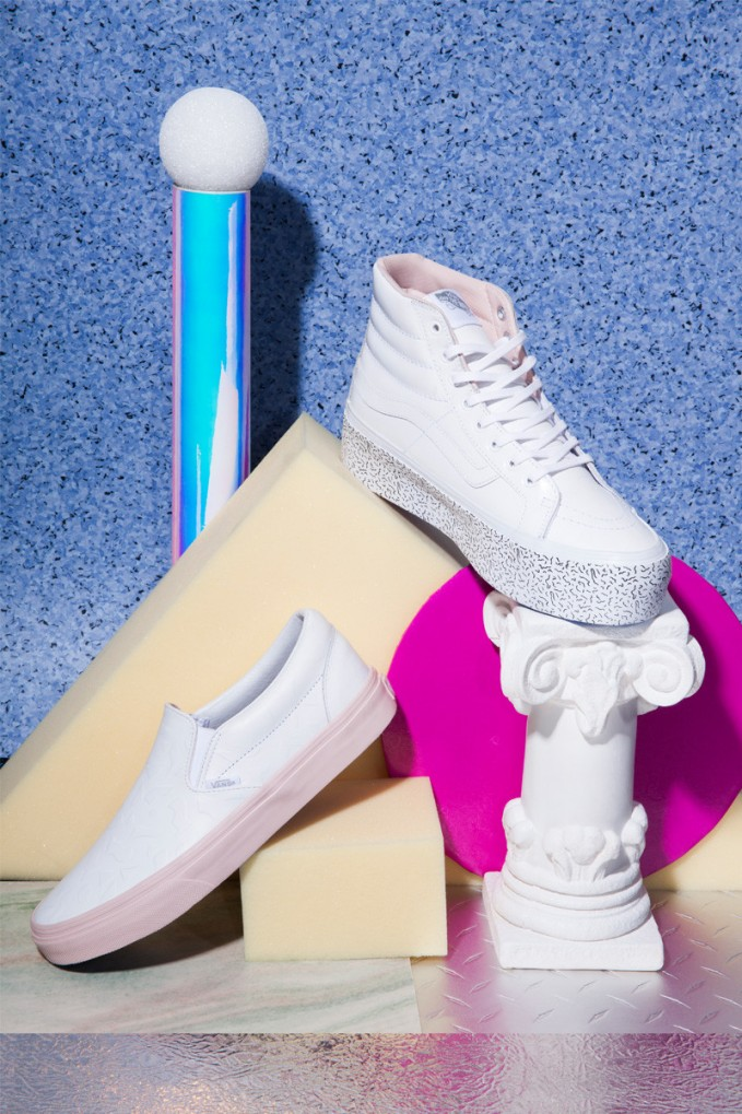 Nasty Gal x Vans Leather Sneaker Collection