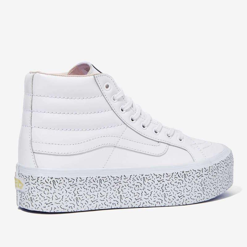 Nasty Gal x Vans Step Up Sk8-Hi Leather Platform Sneaker_2
