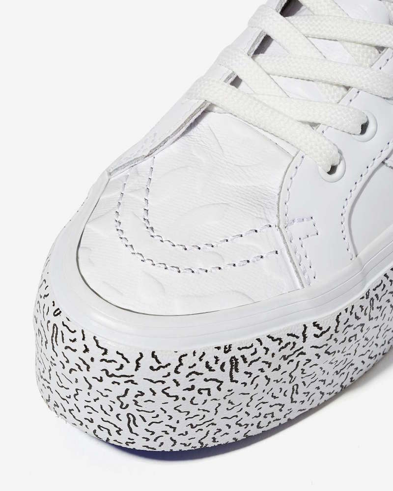 Nasty Gal x Vans Step Up Sk8-Hi Leather Platform Sneaker_3