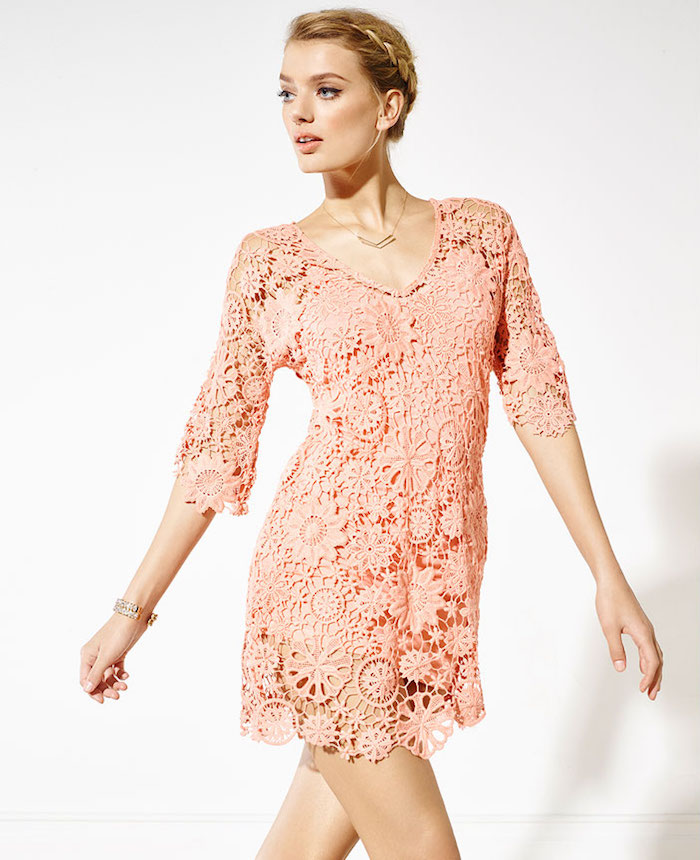 Nightcap Caribbean Crochet Cover Dress
