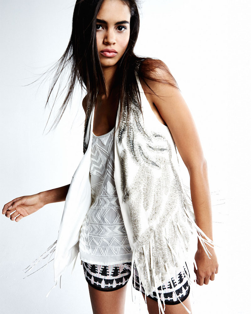 Thakoon Addition Tribal-Pattern Relaxed Shorts