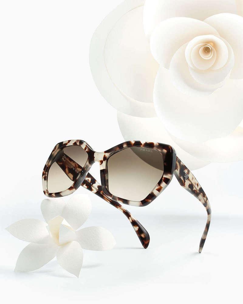 Prada Heritage Hexagonal Sunglasses