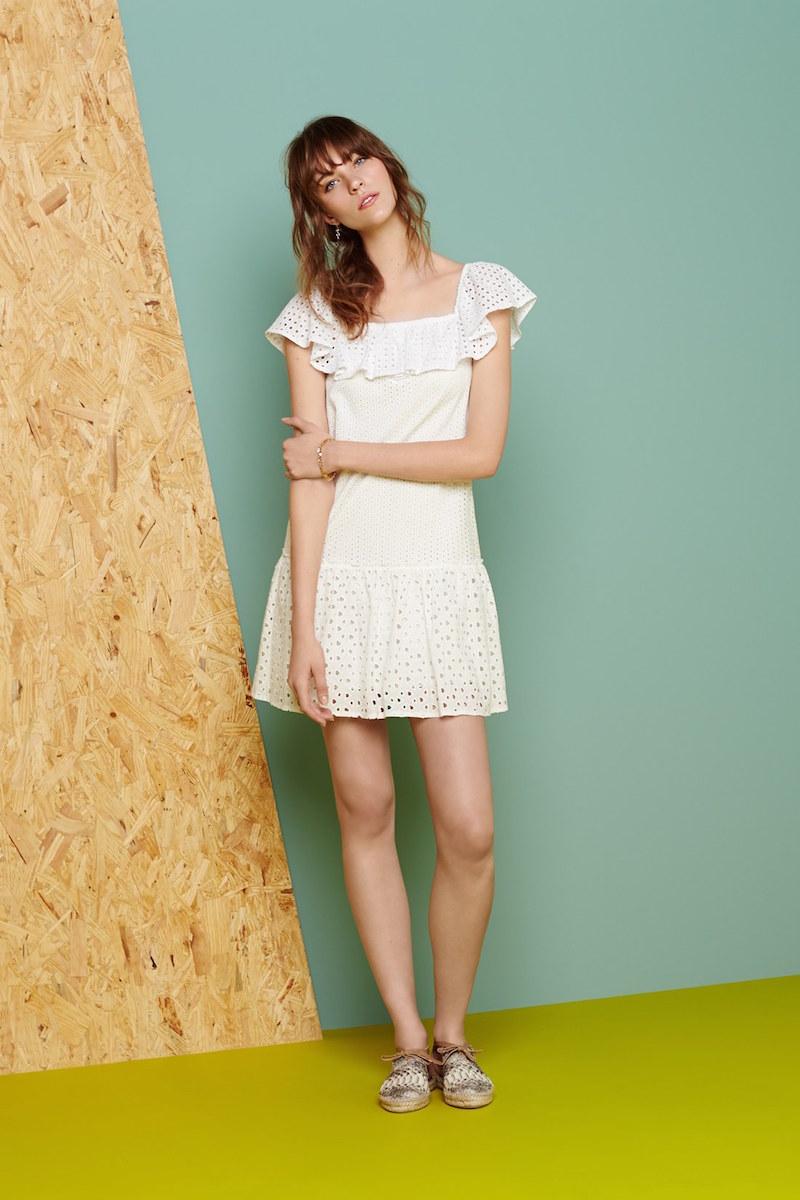 Rebecca Minkoff Celestine Off the Shoulder Dress