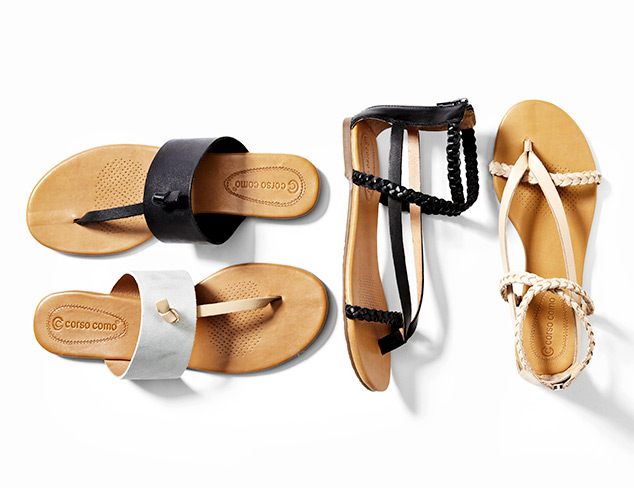 Sandals feat. Corso Como at MYHABIT