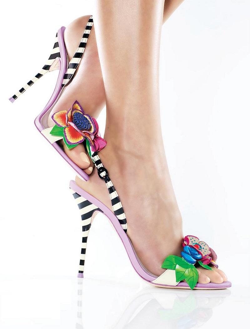 Sophia Webster Lilico Slingback Sandals