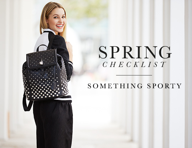 Spring Checklist: Something Sporty at MYHABIT