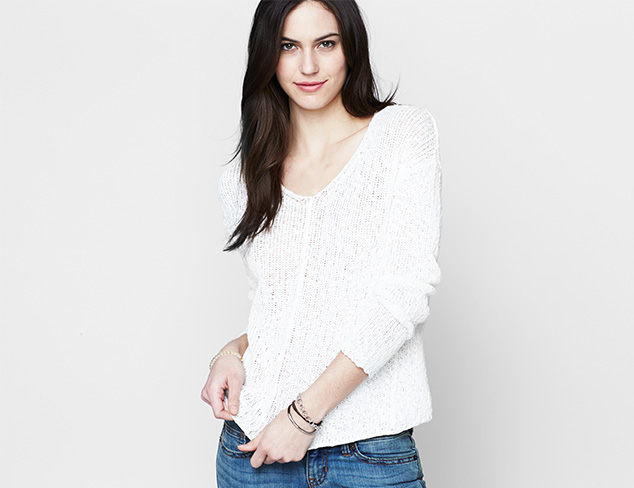 Spring Layers: Pullover Knits at MYHABIT