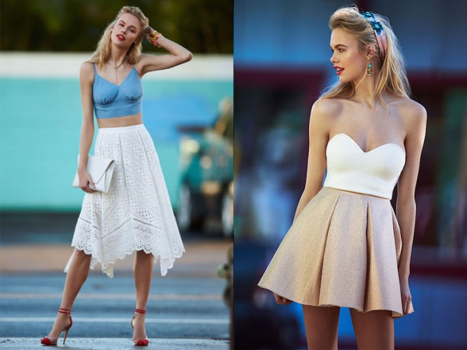 Spring Trends // Mini or Midi Skirts?