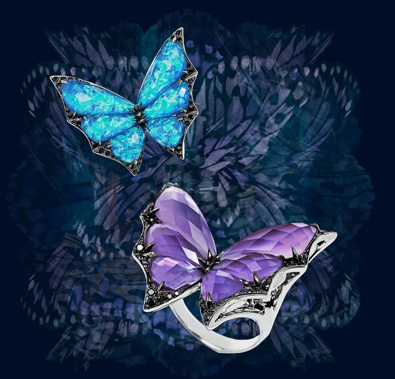 Stephen Webster Fly By Night Major Flutter Ring