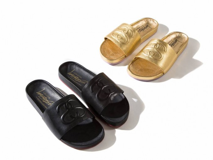 Stussy x Solestruck Link Slide Sandals