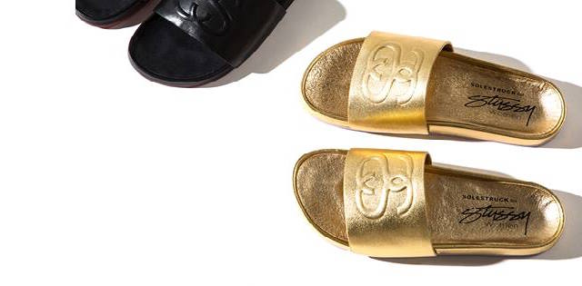 Stussy X Solestruck Link Slide Sandals_1