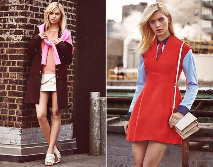 The Art of Color: Modern Colorblocking Dress Trend